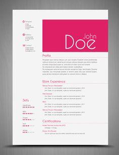 Dale diseño a tu Currículum Vitae (CVs) con estas plantillas en Indesign y Photoshop