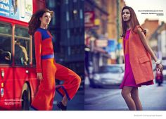 Kate King Wears Colorful Fashion for BAZAAR China by James Meakin
