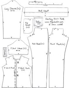 doll clothes patterns - Google Search