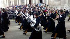 Christ Hospital's Band Lord Mayor's Show London 2014
