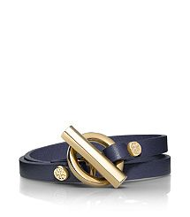 Double Wrap Toggle Bracelet by Tory Burch - I love this stuff!