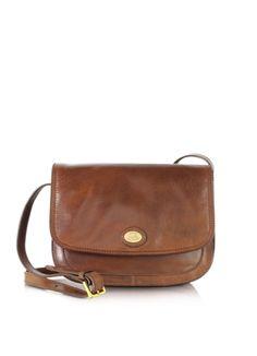 The Bridge Story Donna Marrone Leather Crossbody Bag