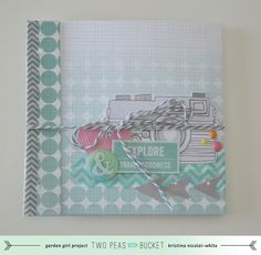 In the Mood to Scrap: Matchbook Mini  by KristinaNicolaiWhite @Two Peas in a Bucket
