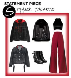 """""""Stylish jackets #statementcoats"""" by mullemullr on Polyvore featuring Golden Goose, Nasty Gal, Balenciaga, Boohoo and statementcoats"""