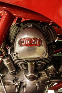 A man's corner - Ducati Motor Holding S. Moto Ducati, Ducati Cafe Racer, Ducati Motorcycles, Ducati Scrambler, Yamaha, Ducati Sport Classic, Classic Bikes, Motorcycle Engine, Cafe Racer Motorcycle