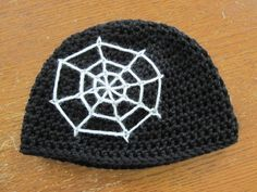 Halloween Hat Pattern - 15 Free Crochet Spiderweb Patterns - The Lavender Chair