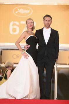 Blake Lively & Ryan Reynolds - Cannes 2014