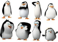 The Penguins and Babies of Madagascar by dlee1293847
