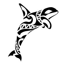 tribal whale shark tattoo design - Google Search