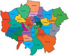 London Neighborhoods | A Pinterest collection by Adeline Underwood ...