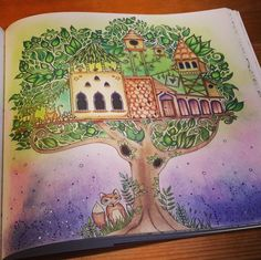 Tree house enchanted forest