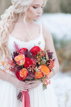 Winter Wedding Inspiration | Verbina Ksenia Photography | Bridal Musings Wedding Blog