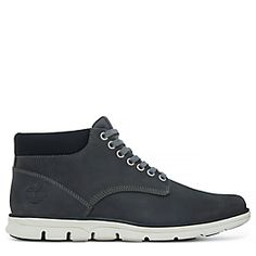 Homme TIMBERLAND Sneakers Wharf District Mid Cuir Cognac
