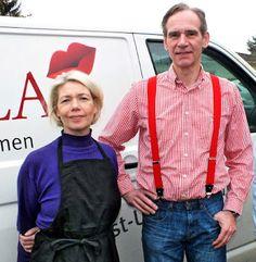 Claudia und Andreas Rapp von der Feinkost-Manufaktur Vinella. #Vinella
