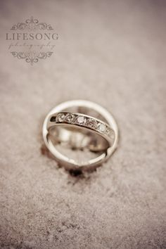 Wedding Rings in the snow. . .