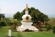 Kalachakra Stupa Shrine photo from Paleaku Gardens, HI by Shay Davidson