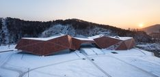 Tonghua Science & Cultural Center | CCTN Architectural Design   #China #METAL #Structure