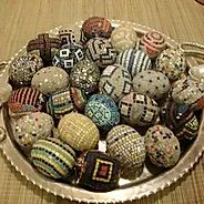 Mosaic Eggs By California Artist, Farrell Hamann Photo: This Photo was uploaded by farrellhamann. Find other Mosaic Eggs By California Artist, Farrell H. Cincinnati, Cleveland, Pittsburgh, I Cool, Cool Stuff, Ohio, Getty Museum, Faberge Eggs, Museum Of Fine Arts