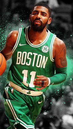 De la NBA, Kyrie Irving, el arte, las estrellas del baloncesto, los Celtics de Boston, baloncesto