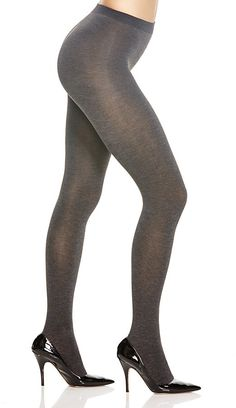 0d0f81bcd2e Hue Thermalux Opaque Tights Grey Tights