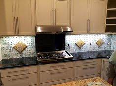 Kitchen with custom backsplash by Rray-southeastern | Norton Commons