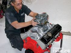 Low Budget Chevy 350 Small Block Engine Build Small Block Engine Photo 4