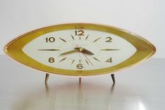 mid century modern - George Nelson Mid Century Modern Wall Clock