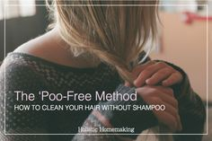 How to clean your hair without shampoo & WHY to go shampoo-free for healthier scalp and hair!!