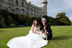 Wedding Gallery for Eastnor Castle - a romantic Herefordshire exclusive use castle wedding venue.