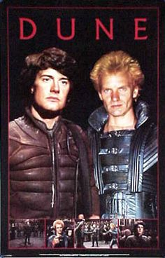 Dune Poster with Paul & Feyd