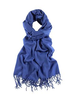 La Purse Light Weight Solid Color Pashmina Shawl Scarf, S-$16.75
