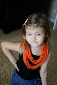 Will Work For Eskimo Kisses: T-Shirt Scarf Tutorial (Total Cost $1)