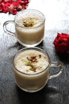 Custard Apple Milkshake _ Veganised version of custard apple milk shake with pistachios and #rose petals! Also this is a sugar free and guilt free milkshake. Have replaced sugar with jaggery powder to make it more healthy and nutritious.