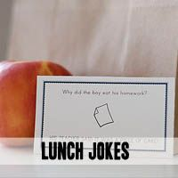 All for the Boys - All for the Boys - FREE PRINTABLE SCHOOL LUNCH NOTES / JOKES!