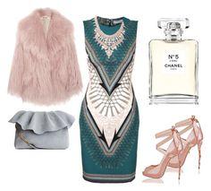 #chic by loredana-tonno on Polyvore featuring polyvore, fashion, style, Versace, Miu Miu, Kendra Scott, Chanel and clothing