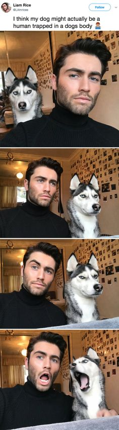 Dog and owner twinning