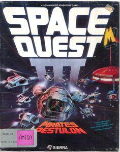 Space Quest III: The Pirates Of Pestul (Amiga)