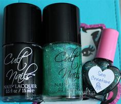 Cult Nails Nevermore, Hypnotize Me, and Hungry Asian Sea Creature. Click through to see more!