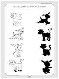 Resultado de imagen de fichas para imprimir de sombras