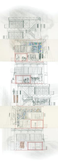Kevin Woodward, Slum City/Immigration Centre, MArch Architecture, UWE Bristol, http://courses.uwe.ac.uk/K10B1