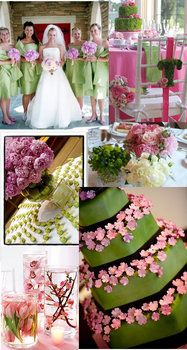 Project Wedding Is Now Weddingwire Pink Green