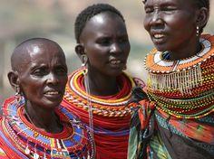 Bijoux ethniques africains d'Afrique, découvrez des collier, boucles d'oreilles, bague et bracelet. African ethnic jewelry.