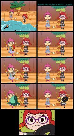 Animal Crossing New Leaf - How Fishing Works