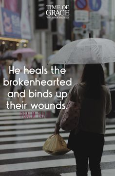 Amen!! God is our healer and comforter. #Psalm
