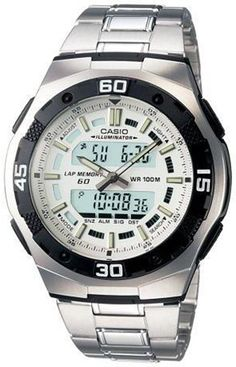 Casio General Men's Watches Standard Active Dial AQ-164WD-7AVDF - WW