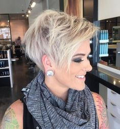 Awesome Short Hair Cuts For Beautiful Women Hairstyles 353