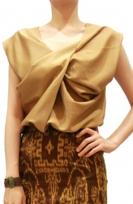 Will be restocked!! soon...so stay tune for our BESTSELLER: Twist Front Top in Camel
