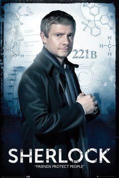 Sherlock Watson Maxi Poster
