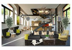 Loft Living by lrkdecor | Olioboard