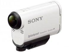 Sony Action Cam AS200 Gravação Full HD - Estabilizador Wi-Fi GPS + Kit de Acessórios com as melhores condições você…